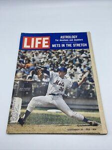 1969 Life Magazine Jerry Koosman  New York Mets In The Stretch September 26
