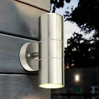 Stainless Steel Outdoor Wall Sconce Waterproof Wall Light Fixture Porch Light