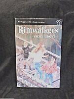 Rimwalkers Paperback Vicki Grove Young Adult Reading Author Signed 1996