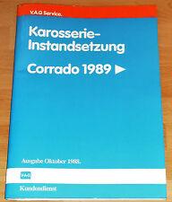 Reparaturleitfaden Karosserie Instandsetzung VW Corrado ab 1989 Karosseriemaße