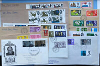 Collection Of First Day Covers - Some Have Phosphor Bands On Stamps
