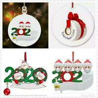 2020 Christmas Tree Decoration Lockdown Family Hanging Ornaments Baubles Loo Rol