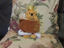 Suave felpa Jubileo Rey Pooh 2002 de Disney Winnie The Pooh
