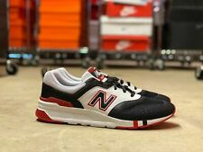 New Balance 997H Low Top Mens Running Shoes Black/Red/White (CM997HBX) Multi Sz