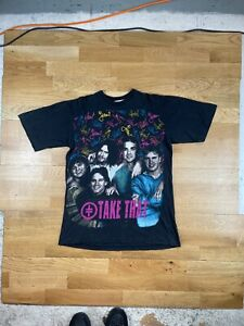Take That vintage 90s Euro Bootleg single stitch band t-shirt