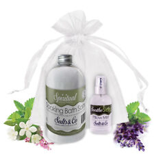 SPIRITUAL & SOOTHE – AROMATHERAPY BATH SALTS & PILLOW SPRAY GIFT SET