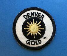 Rare Vintage Denver Gold USFL Football Jacket Hoodie Backpack Patch Crest