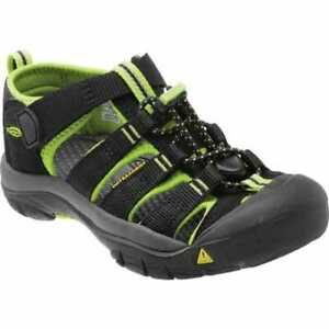 Toddler Keen Newport H2 Sandal Black/Lime Green
