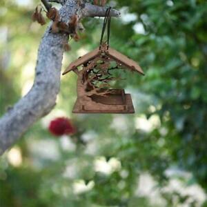 Holzvogelhaus Kleiner Garten im Freien Vogel Nistkasten Garten Vogelhaus Y9W6