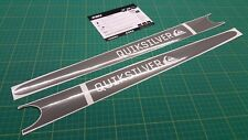 Peugeot 206 Quiksilver Gti side decals stickers graphics restoration Quicksilver
