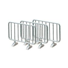 1:32 Siku Pack Of 10 Barriers - 2464 Road Model 10piece Assorted Colours