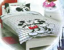 DISNEY MICKEY AND MINNIE QUEEN bed QUILT DOONA COVER SET