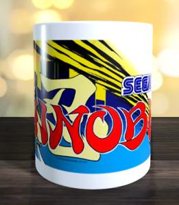 Shinobi retro arcade game Marquee Mug