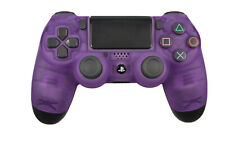 Custom Soft Touch Clear Purple Dualshock Playstation PS4 Wireless Controller