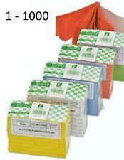 Confezione, BLOCCO NUMERATO DA 1 A 1000 - BLOCCHETTO PER LOTTERIE PESCA PAESANA