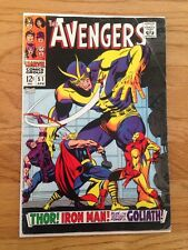 Avengers 51 Collector Giant Man Key Silver Age Marvel Movie Comic