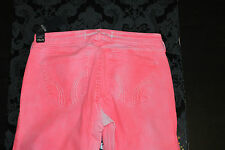 Hollister Ladies Jegging Jeans Pink Rose Size 9 29x29 new with tag