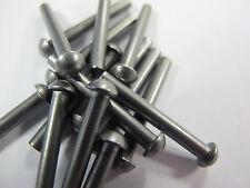 3/64 (1.19 / 1.20) X .315 (8mm) Steel Round Head Solid Rivet - (1000 pcs)