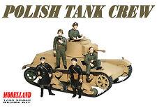 POLISH TANK CREW & OFFICERS SEPTEMBER 1939 (TO 7TP, VICKERS, TKS) 1/35 MODELLAND