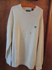 "Men's ""Chaps"" B&T Size 2XLT, Essex Cream, Crewneck, Long Sleeve Sweater"