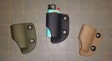 Kydex Lighter Case For Little Bic x3 Handmade