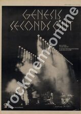 Genesis Seconds Out GE2001 LP Advert 1977