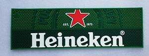 Stunning Heineken Lager Rubber Bar Runner - NEW - Home Bar - Pub