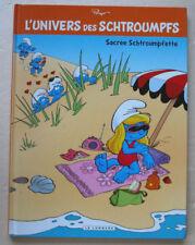 L'Univers Schtroumpfs T 3 Sacrée Schtroumpfette PEYO éd Lombard DL 07/2013 EO