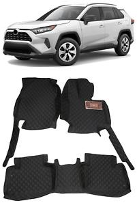 For Toyota RAV4 XA50 2019 2020 2021 Floor Mat Auto Accessory Foot Mat Pad RHD
