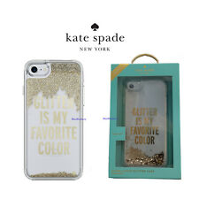 Kate Spade Liquid Glam Case for iPhone 7 & iPhone 8 Glitter Is My Favorite Color