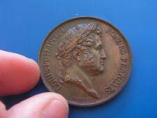 LOUIS-PHILIPPE Ier Médaille donnée par le roi, école de dessin  (ref 6000)