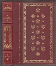 VG 1981 HC Franklin Library Edition William Shakespeare Selected Plays H Fuseli