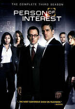 Person of Interest:The Third Season 3 Three (DVD, 2014)