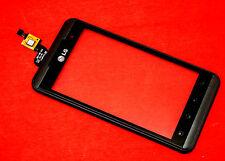 ORIGINALE LG p920 Optimus 3d Touchscreen Digitizer Vetro Anteriore con cornice frame