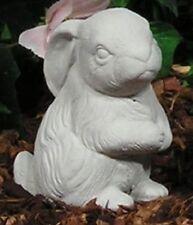 Cotton Tail Hops Baby Bunny Rabbit Up Latex Fiberglass Mold Concrete Plaster