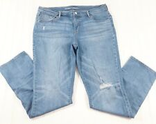 Old Navy Original Women's size 12 Jeans Mid Rise stretch skinny distressed