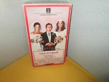MICKY & MAUDE rare Wedding Comedy vhs DUDLEY MOORE Andre The Giant AMY IRVING 85
