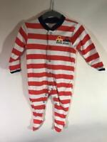 Marks & Spencer Baby Boys Striped Cotton Sleepsuit 3-6 months New