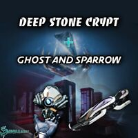 Full Raid Deep Stone Crypt + Ghost and Sparrow  | Xbox Ps4 |