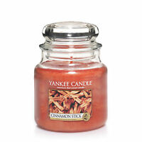 YANKEE CANDLE Candela profumata Cinnamon Stick giara media durata 90 ore