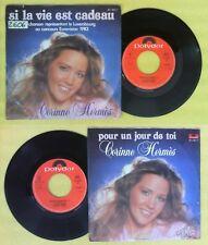 LP 45 7'' CORINNE HERMES Si la vie est cadeau Pour un jour toi no cd mc dvd vhs
