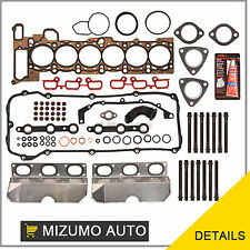 Head Gasket Bolts Set Fit 01-05 BMW 325i 530i X3 X5 Z4 2.5 & 3.0 DOHC 24V M54
