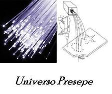 10 metri fibra ottica per cielo stellato presepe/ modellismo misura 1,5 mm