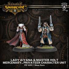 Warmachine: Lady Aiyana & Master Holt PIP 41055