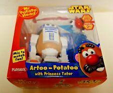 PLAYSKOOL Star Wars-Mr Potato Head Artoo-Potatoo and Princess Tater- NIB-