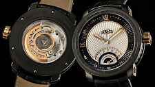 DeWitt Twenty-8-Eight Retrograde Second Titanium PVD w/ 18K RG. Automatic Watch