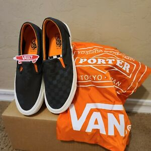 Vans Vault Slip On Collaboration With Porter Yoshida And Company Mens Size 9.5