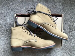 NEW Red Wing Heritage Merchant 8062 Olive Mohave Leather Size 8.5 D US NOS Suede