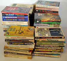 Huge Lot 70+ Mystery Crime Books Agatha Christie Ahern Allingham Crispin