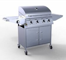 Stainless Steel Griddle Gas - 5 Burner Barbecues